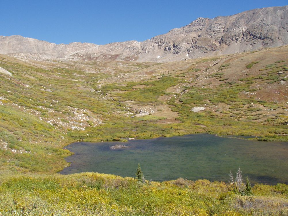 View of a Lake in Mosquito Pass
