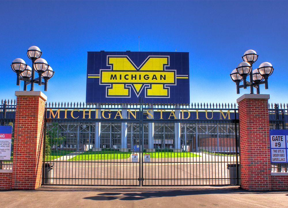 Outside of Michigan Stadium