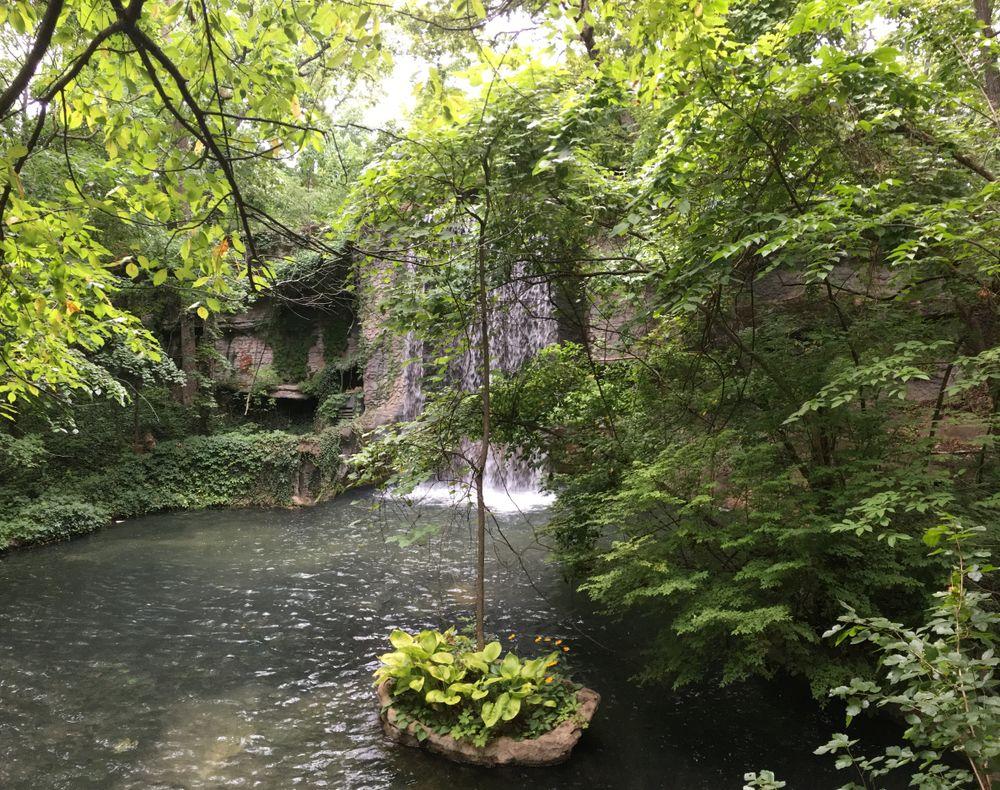 Waterfall at Silver Dollar City