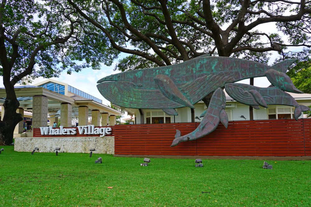 Outside View of Whaler's Village