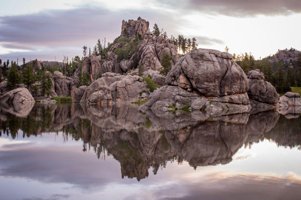 Reflection in Sylvan Lake