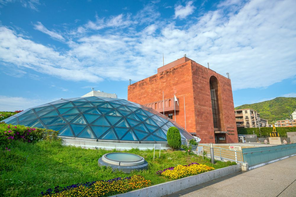 Outside View of Nagasaki National Peace Memorial Hall
