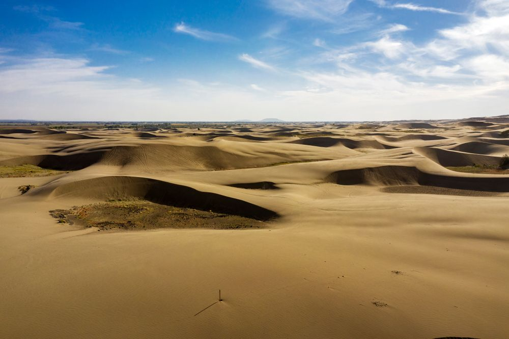 View of St. Anthony Sand Dunes