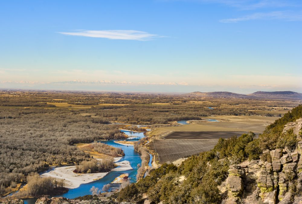 Aerial View of  Cress Creek Nature Trail