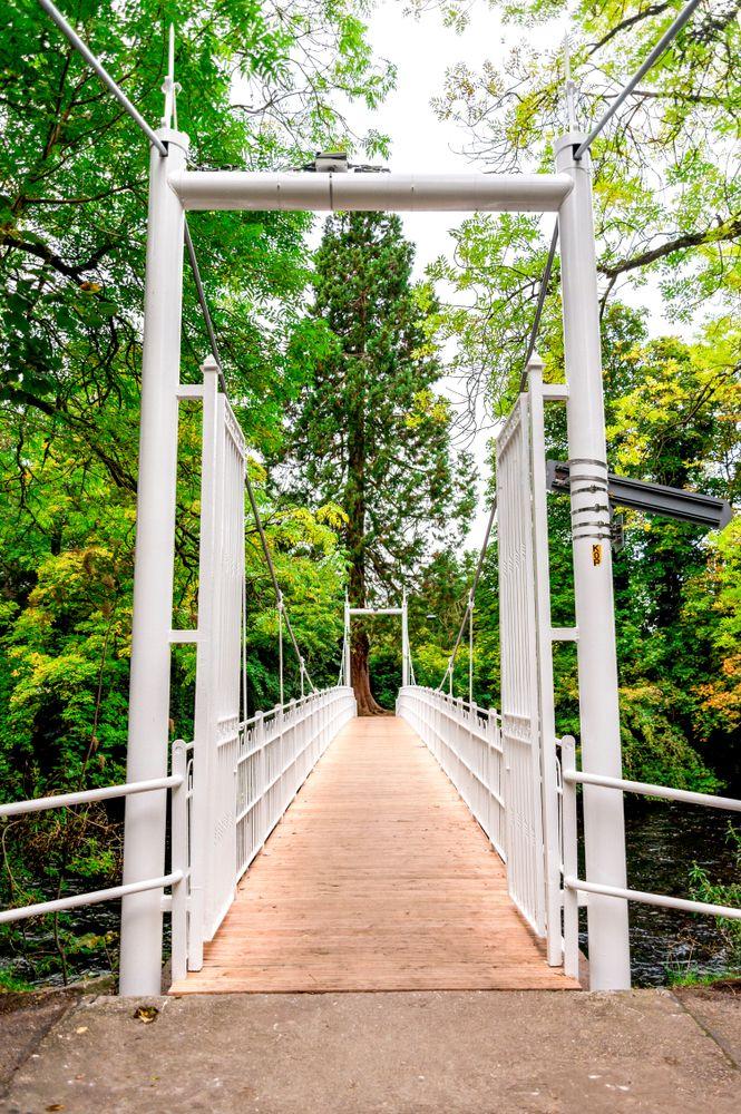 Hanging Bridge to Ness Islands