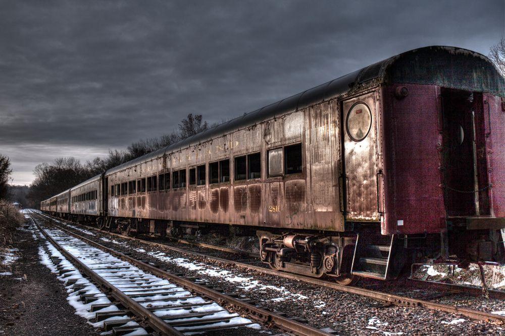 Vintage Train at New Hope Railroad