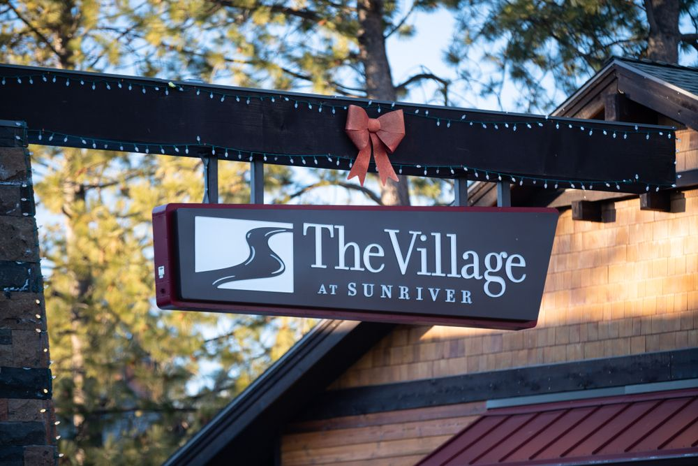 A Sign in The Village at Sunriver