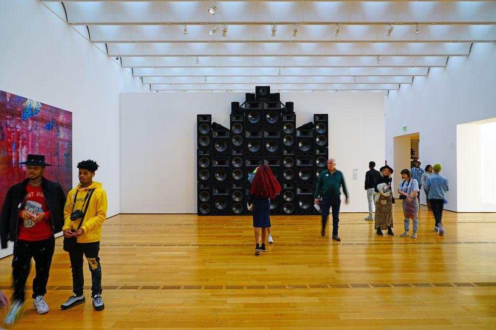Inside High Museum of Art