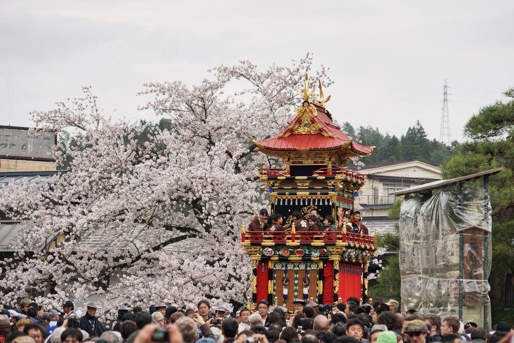 A Float in Takayama Festival