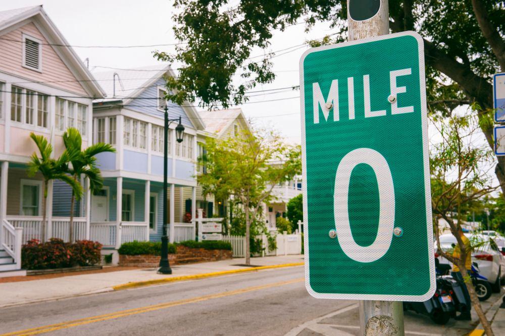 Mile Marker 0 in Key West