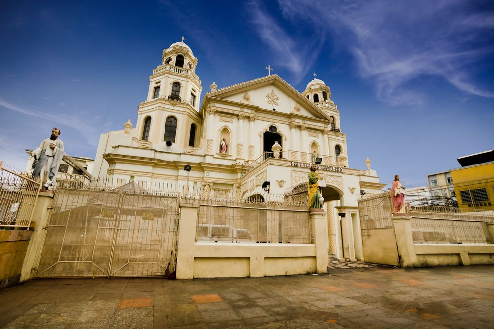 Outside View of Quiapo Church