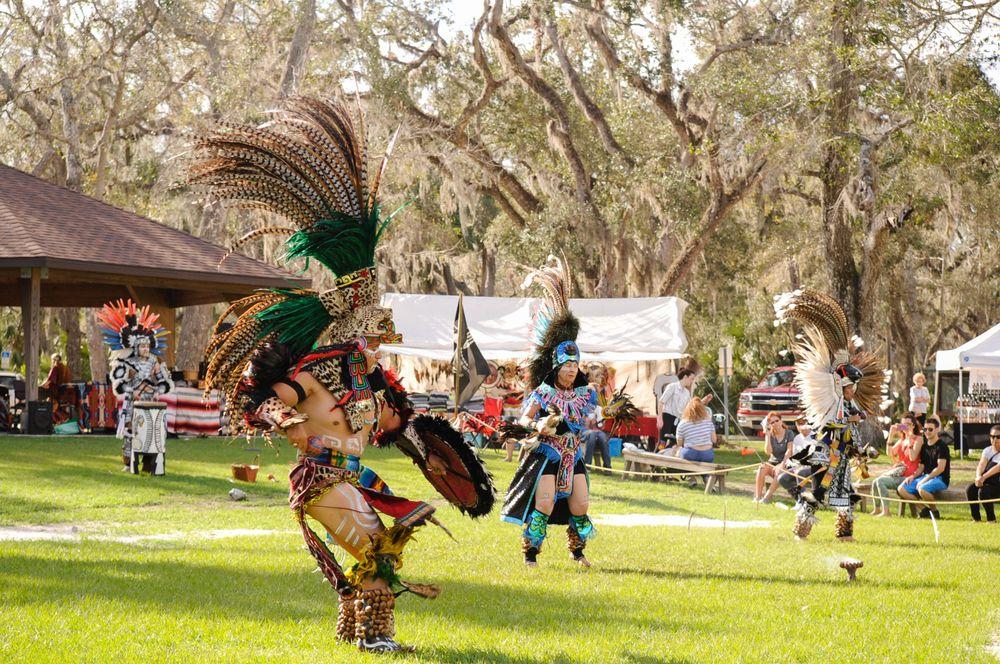 Native American Festival in Princess Place Preserve