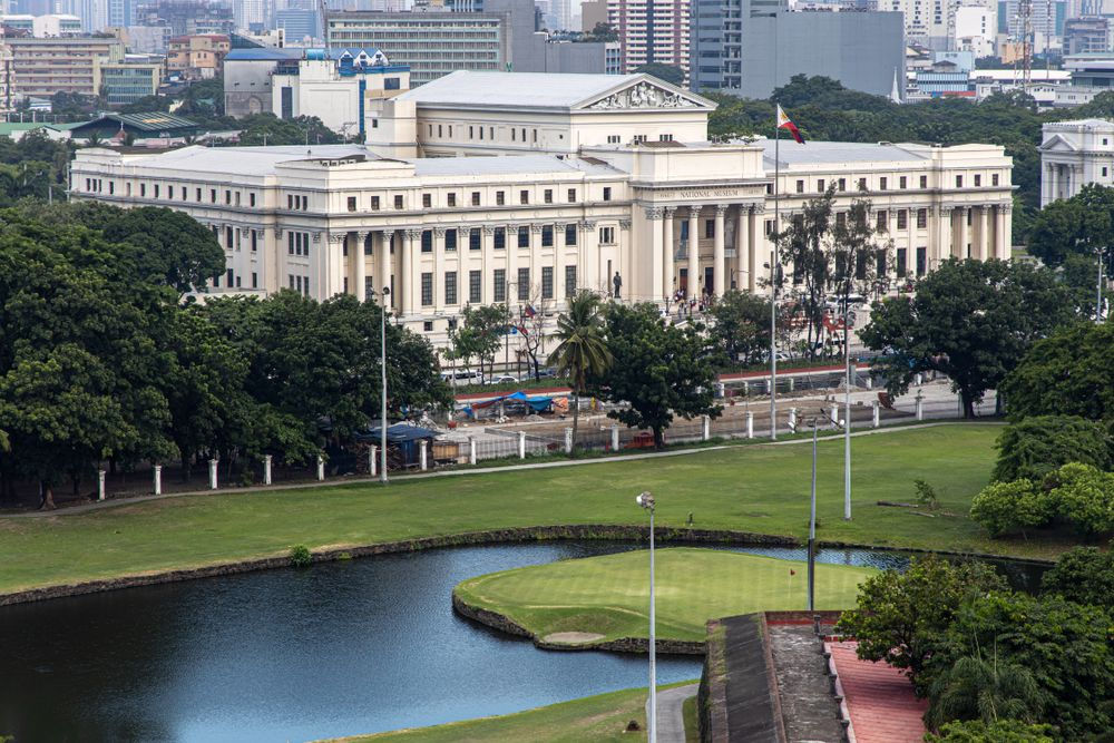 Aerial View of National Museum of Fine Arts