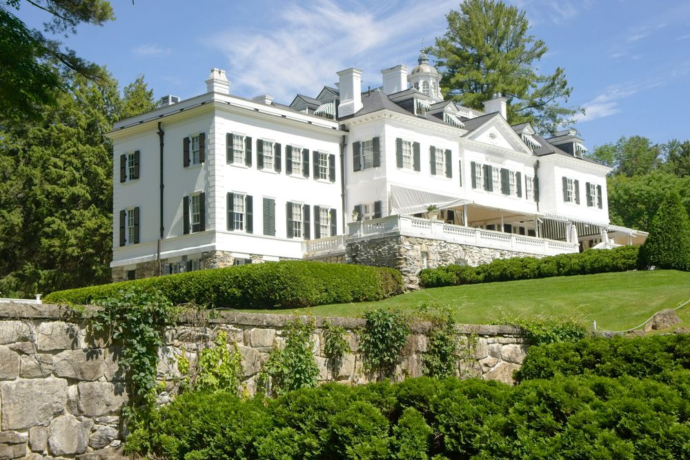 View of  Mount, Edith Wharton's Home