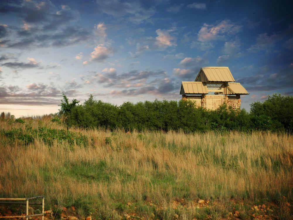 House Near Elmer Thomas Lake in Oklahoma