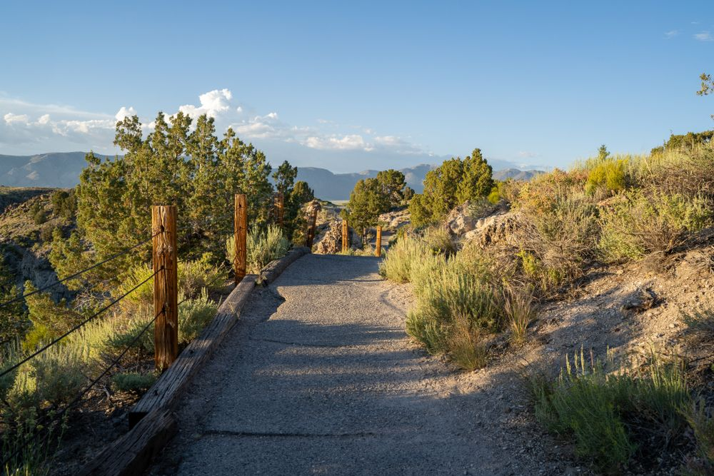 A Trail to the Hot Creek Geological Site