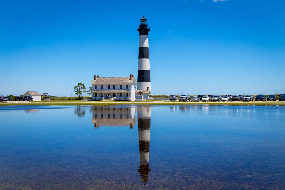 View of Bodie Island Lighthouse