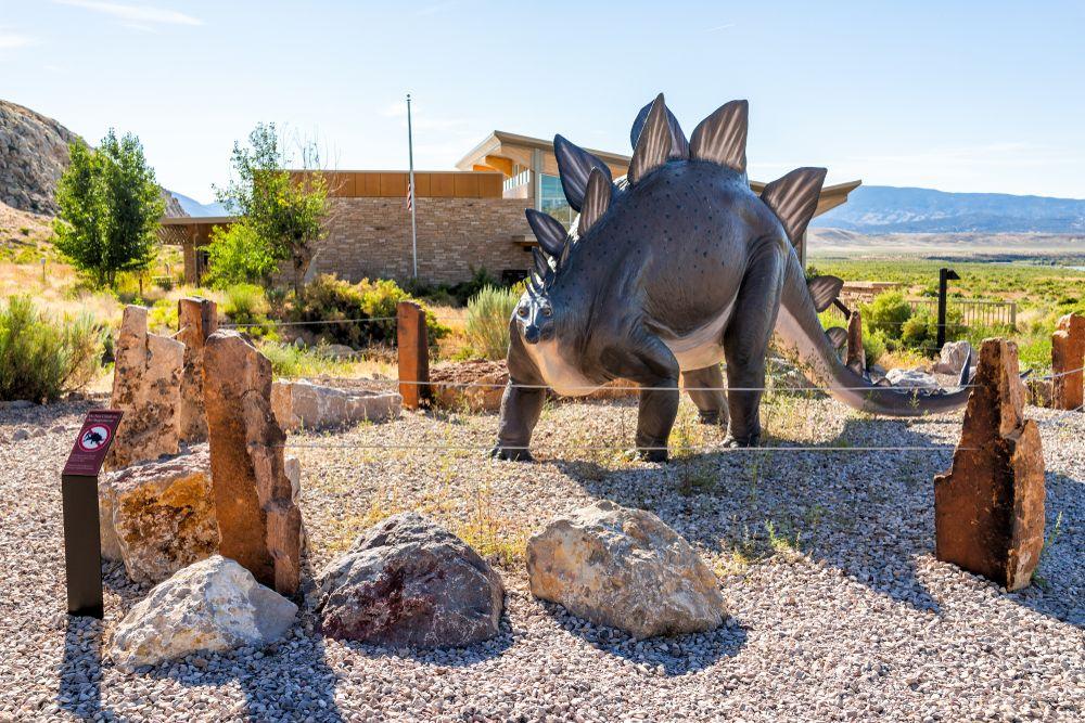 Outside of Dinosaur National Monument