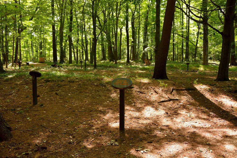 Within Sheboygan Indian Mound Park