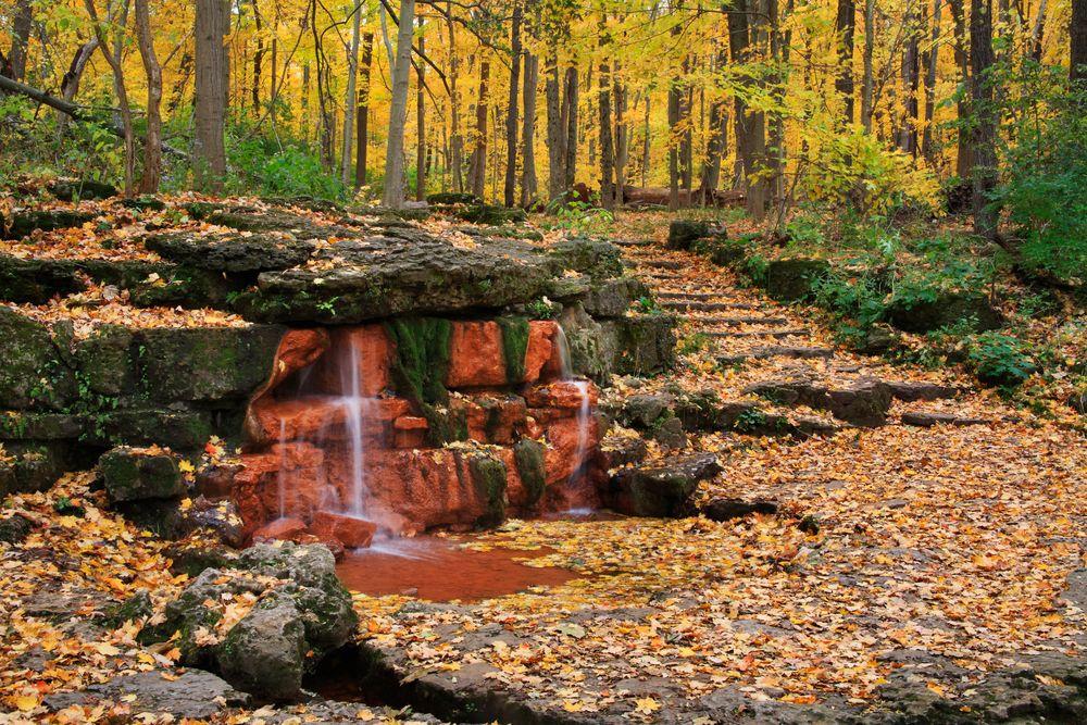 View of Glen Helen Nature Preserve