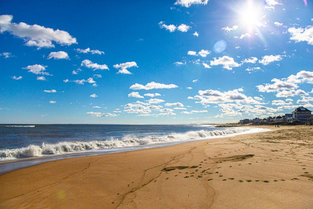 Beach in Salisbury Beach State Reservation