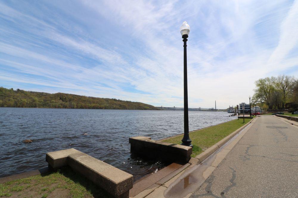 View of Riverfront Park