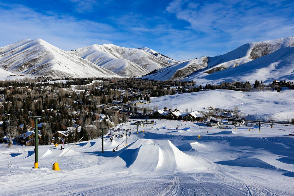 Snow in Dollar Mountain