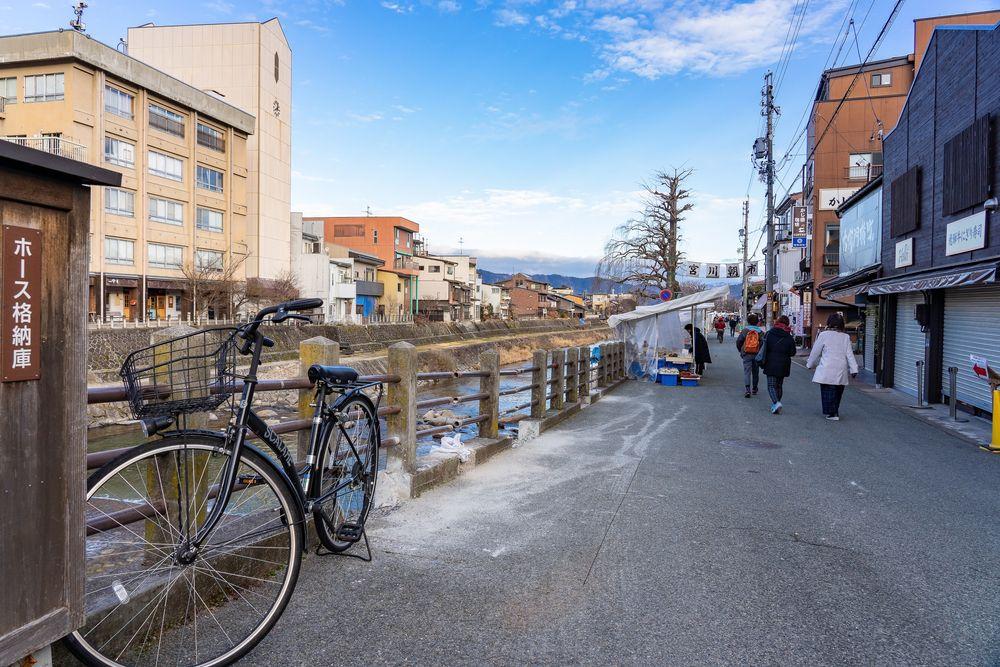 View of Miyagawa Morning Market