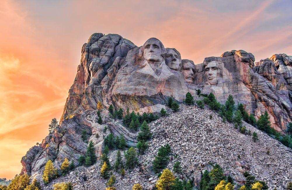 View of Mt. Rushmore National Memorial