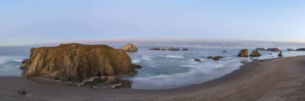 View of Beauty of Oregon Islands National Wildlife Refuge