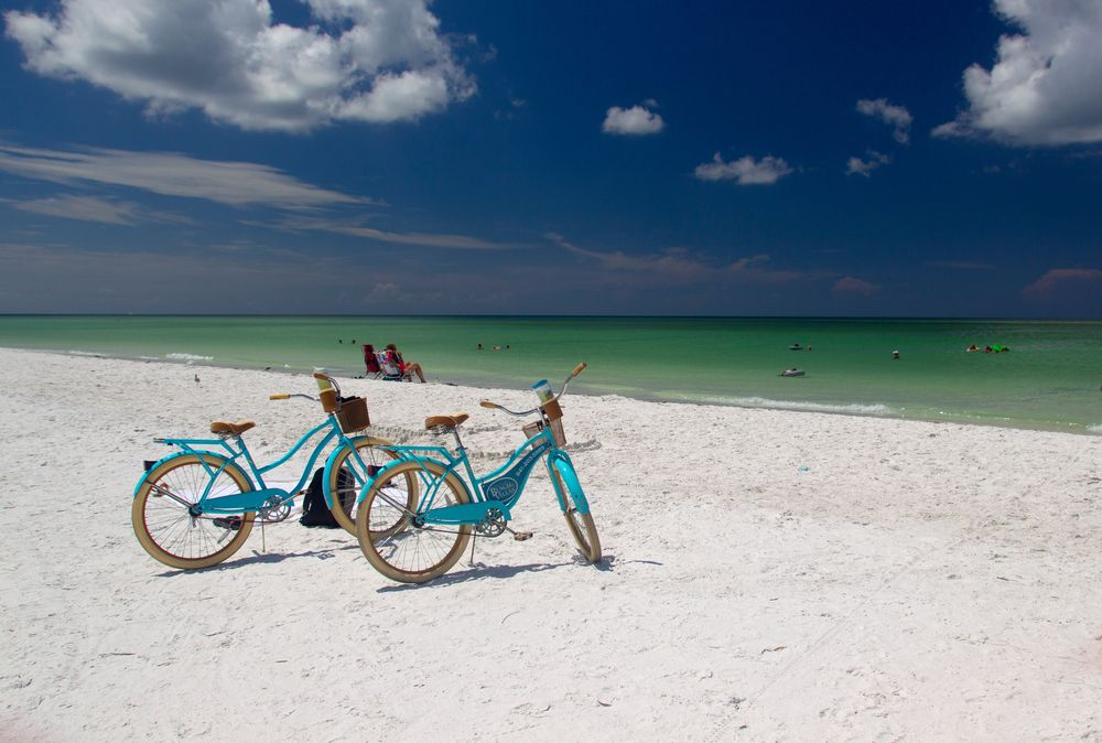 Two Bikes in in Siesta Keys, FL