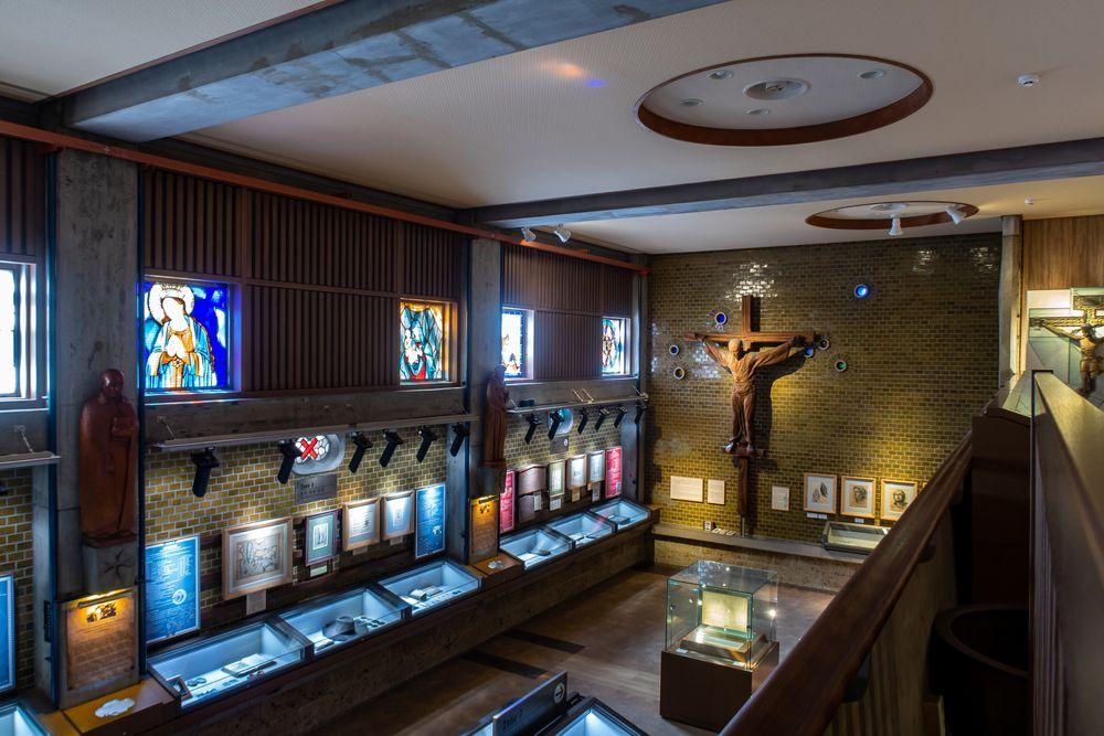 Inside View of Twenty-Six Martyrs Christianity Museum