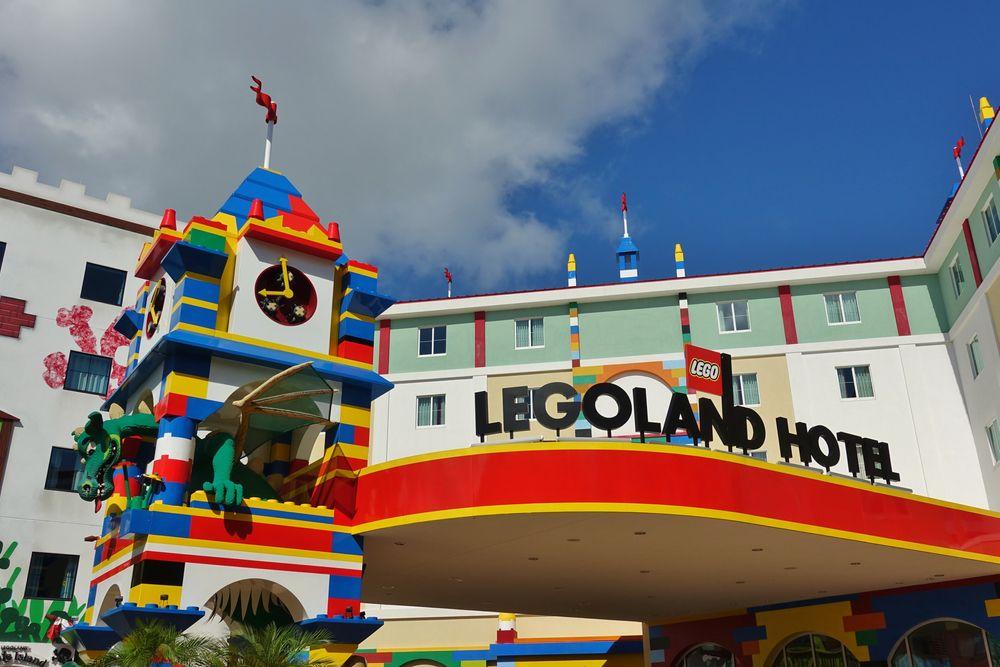 Outside LEGOLAND Florida Resort