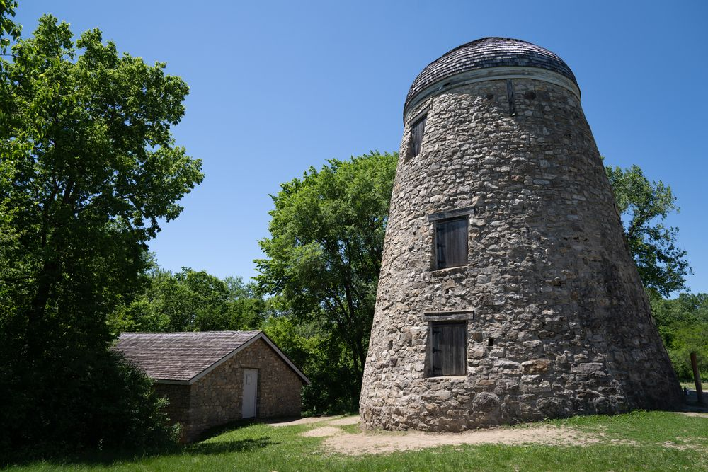 An Abandoned Seppmann Mill in Minneopa State Park