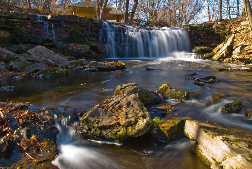Waterfalls in Minneopa State Park