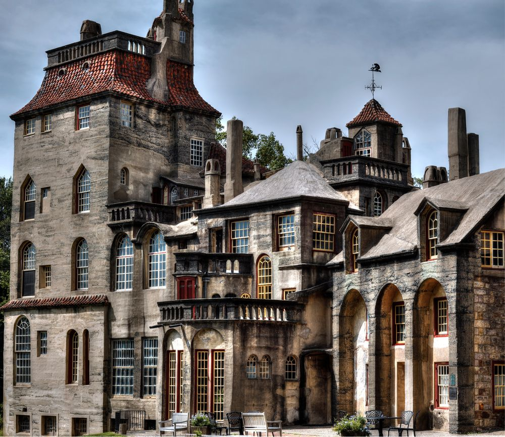 View of Fonthill Castle