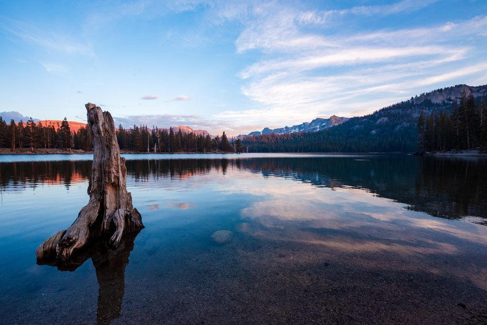 Clear Water in Horseshoe Lake