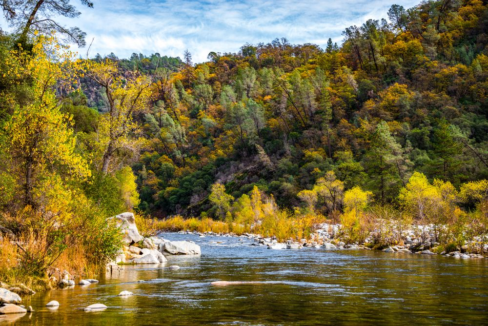 South Yuba River in Nevada