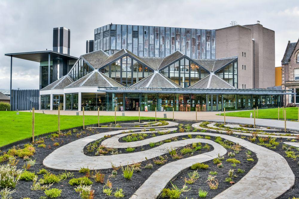Eden Court Theatre and Cinema in Inverness
