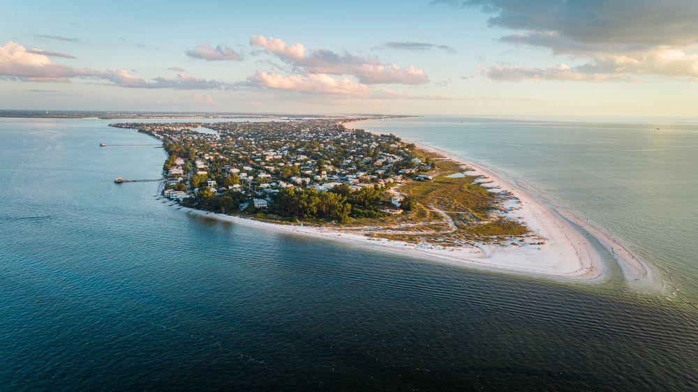Aerial View of Anna Maria Island