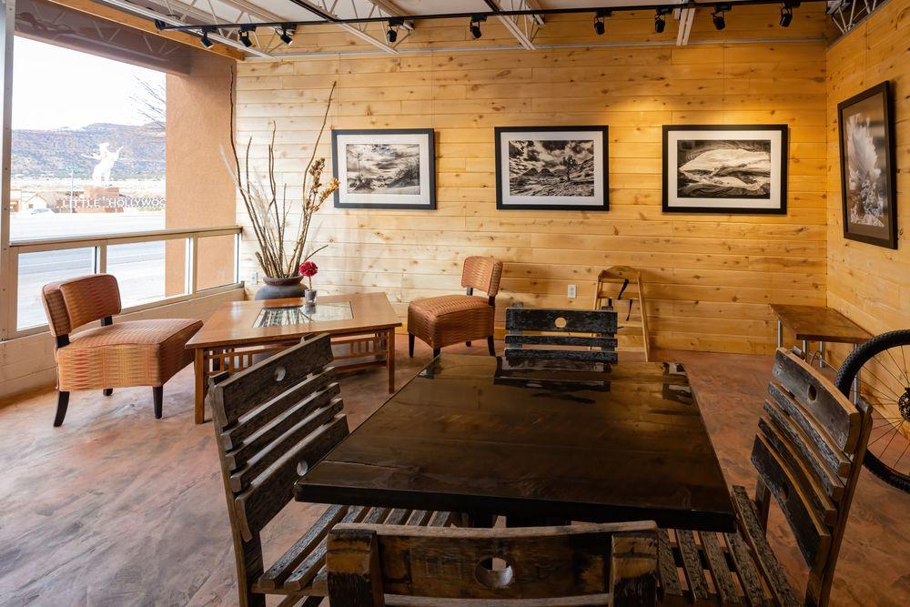 Inside view of Kanab Creek Bakery