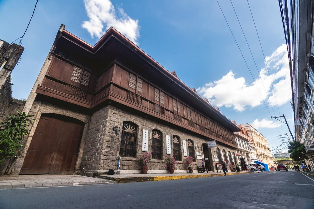 Facade of El Amanecer Building in Intramuros