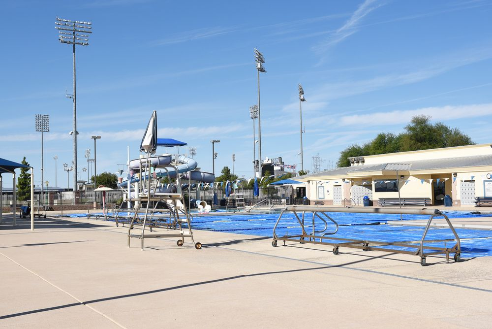 Outside view of  Surprise Aquatic Center