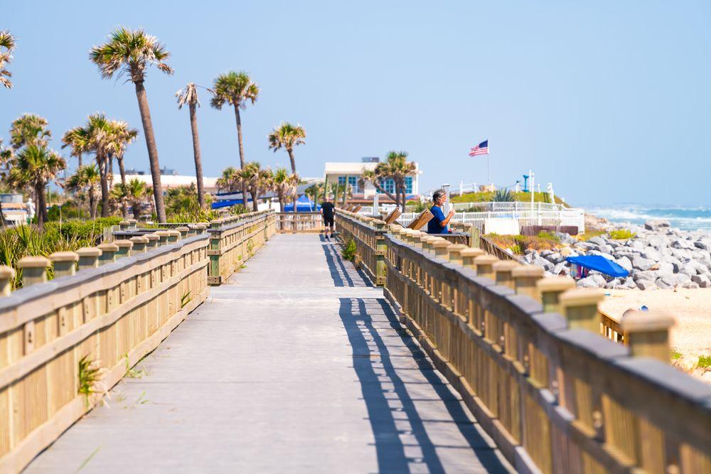Boardwalk in River to Sea Preserve