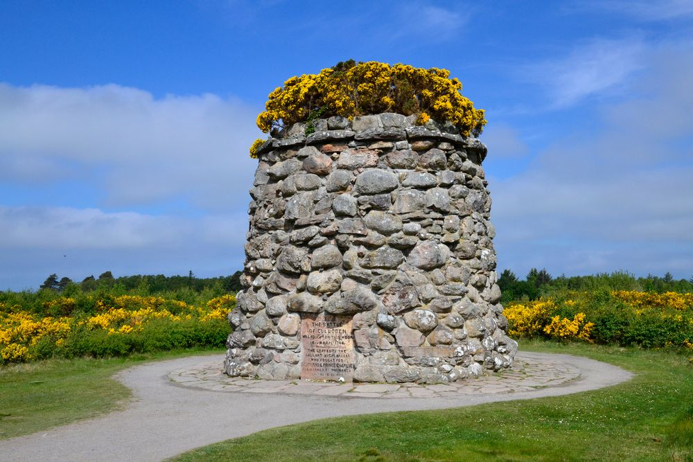 Memorial for the Battle of Culloden