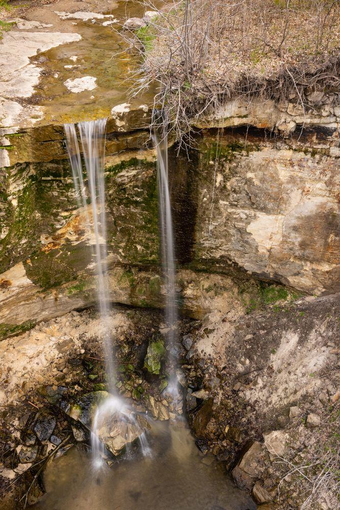 View of  Minnemishinona Falls