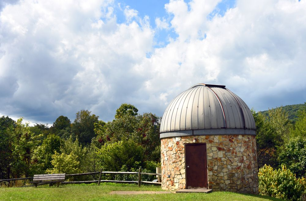Scenic View at Bays Mountain Park and Planetarium