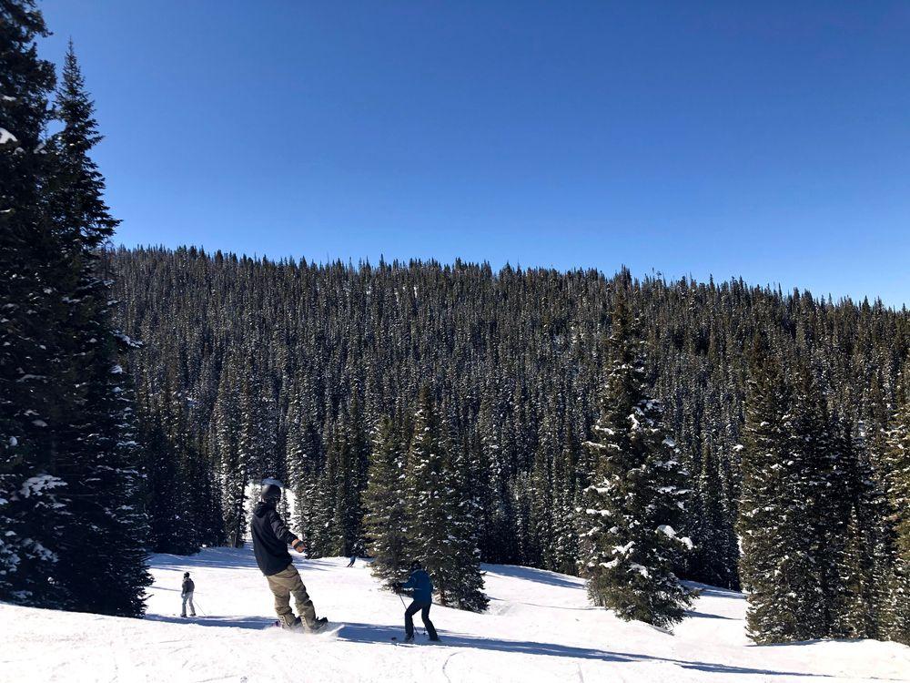 Skiing in Cooper, Colorado