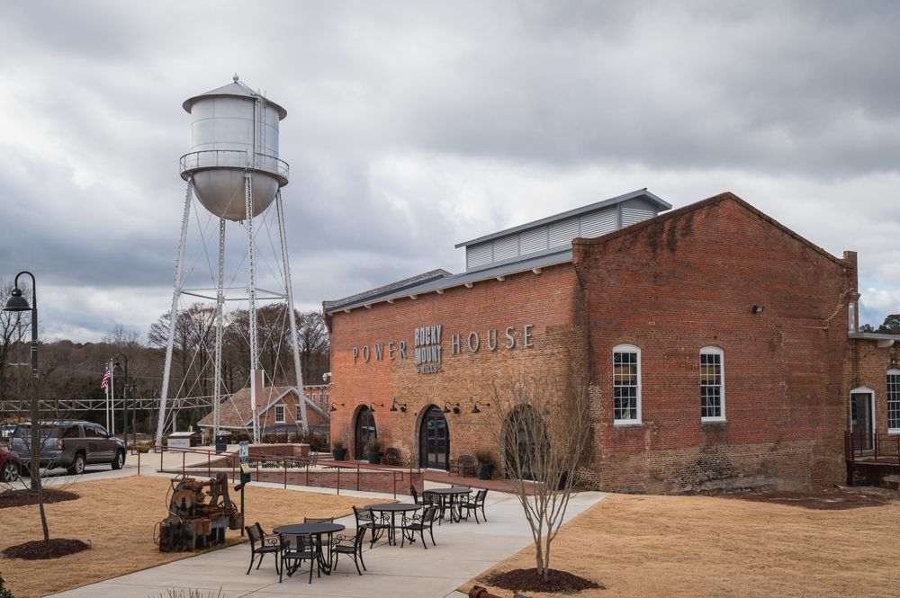Outside View of Rocky Mount Mills