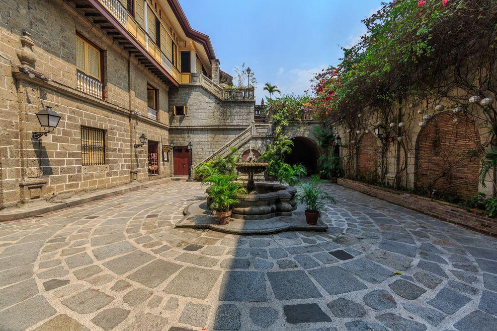 Inside Casa Manila